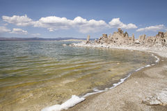 Water of Mono Lake Royalty Free Stock Images