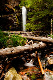 Water of Montana. Memorial Falls in the fall in Montana Royalty Free Stock Photos