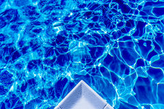 Water moods. This photo demonstrate the various color moods of water. This is the photo of swimming pool Stock Images