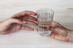 Water is the most valuable resource on earth Royalty Free Stock Photos