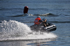 Water-motor sport Royalty Free Stock Photography