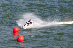 Water Motorcycle Competition Royalty Free Stock Images