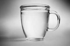 Water in mug Royalty Free Stock Photo