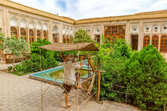 Water museum in Yazd Royalty Free Stock Photo