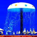 Water mushroom Stock Images