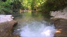 Water nature in france stock video footage