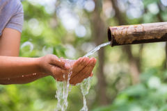 Water From Nature Royalty Free Stock Images