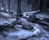 Water, Nature, Snow, Stream Stock Images