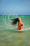 Water-nymph Royalty Free Stock Photo