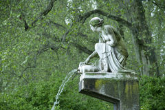 Water nymph Royalty Free Stock Images