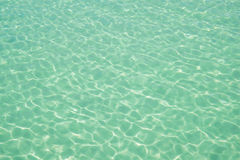 Water ocean background. Clear blue ripple aqua texture Royalty Free Stock Images