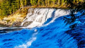 Free Water Of The Murtle River As It Tumbles Over The Cusp Of Dawson Falls In Wells Gray Provincial Park Stock Images - 143257154