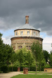 Water old Tower Nord and Ost Royalty Free Stock Photos
