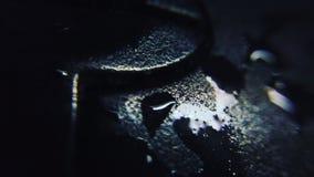 Water op optische muis Stock Afbeelding