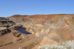 Mining Open pit mine Stock Photos