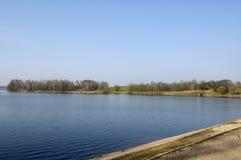 Water-opslag reservoir Drozdy Royalty-vrije Stock Afbeelding