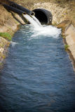 Water outflow Royalty Free Stock Photography