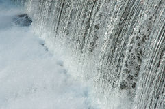 Water Over The Dam Stock Photography