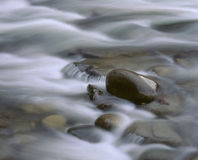 Water Over Rocks Royalty Free Stock Photos
