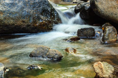 Water Over Rocks, Great Smoky Mountains National Park Stock Images