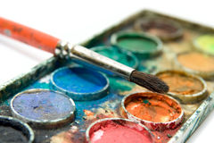 Water paint Stock Photography