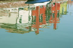 Water painting stock image