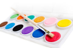 Water Paints Stock Image