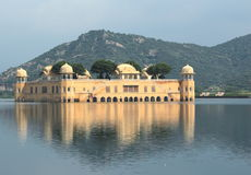 Water palace in jaipur. Royalty Free Stock Photo