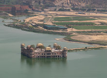 Water palace in Jaipur Royalty Free Stock Image