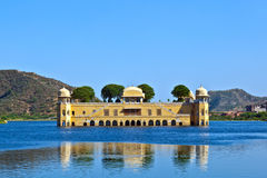 Water Palace Jal Maha) in Man Sagar Royalty Free Stock Images