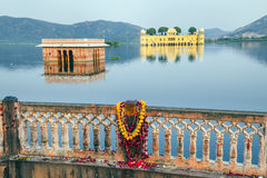Water Palace (Jal Mahal) in Man Royalty Free Stock Image