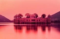 The Water Palace at sunrise Rajasthan Jaipur Stock Photos