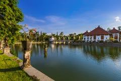 Water Palace Taman Ujung in Bali Island Indonesia Stock Photos