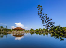 Water Palace Taman Ujung in Bali Island Indonesia Royalty Free Stock Photography
