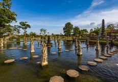 Water Palace Tirta Ganga - Bali Island Indonesia Royalty Free Stock Photography