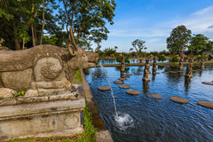 Water Palace Tirta Ganga - Bali Island Indonesia Stock Photo