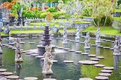 Water Palace of Tirta Gangga in East Bali Royalty Free Stock Images