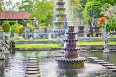 Water Palace of Tirta Gangga in East Bali Royalty Free Stock Image