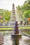 Water Palace of Tirta Gangga in East Bali Stock Photography
