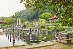Water Palace of Tirta Gangga in East Bali Stock Image