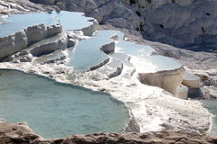 Water in Pamukkale Royalty Free Stock Photography