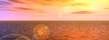 Water Panoramic Stock Photography