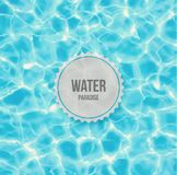 Water paradise. Water ripple background, eps 10 Stock Photos