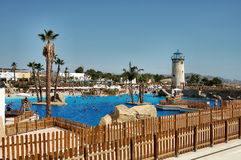 Water park. Spain Royalty Free Stock Photography