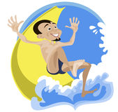 A water park Royalty Free Stock Photography