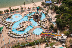 Water Park Aqua park Stock Photo