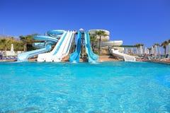 Water park, aqua park Stock Image