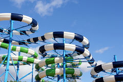 Water slide park Royalty Free Stock Images