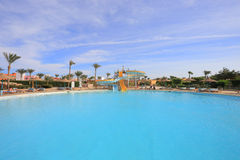Water park in Egypt Royalty Free Stock Image