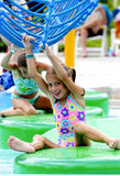 Water park fun Stock Photo